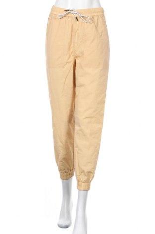 Дамски панталон Pieces, Размер M, Цвят Бежов, Полиамид, Цена 12,40лв.