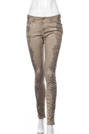 Дамски панталон Raffaello Rossi, Размер S, Цвят Бежов, 98% памук, 2% еластан, Цена 11,55лв.