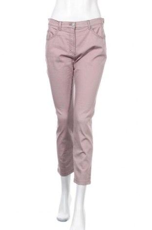 Дамски панталон Raphaela By Brax, Размер M, Цвят Розов, 78% памук, 19% полиестер, 4% еластан, Цена 17,96лв.