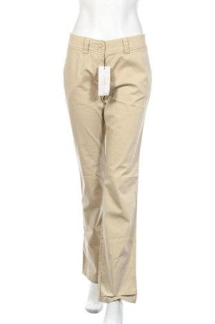 Дамски панталон Rene Lezard, Размер S, Цвят Бежов, 97% памук, 3% еластан, Цена 10,67лв.