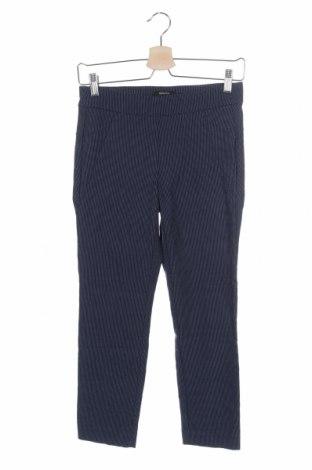 Дамски панталон Rw & Co., Размер XS, Цвят Син, 57% вискоза, 26% полиестер, 14% полиамид, 3% еластан, Цена 7,64лв.