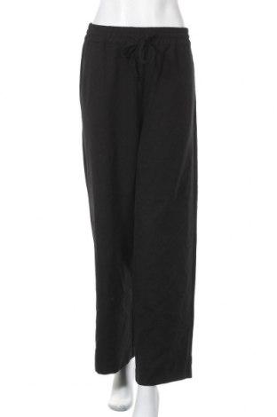 Дамски панталон Selected Femme, Размер M, Цвят Черен, 100% полиестер, Цена 17,80лв.