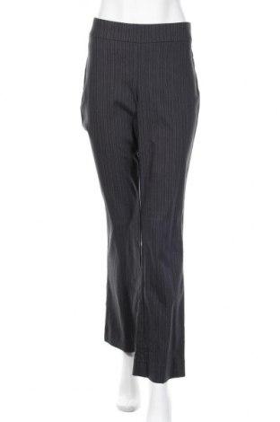 Дамски панталон Simply Vera Vera Wang, Размер L, Цвят Сив, 68% вискоза, 20% полиамид, 8% полиестер, 4% еластан, Цена 8,82лв.