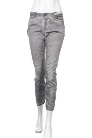 Дамски панталон Street One, Размер S, Цвят Сив, 98% памук, 2% еластан, Цена 8,51лв.