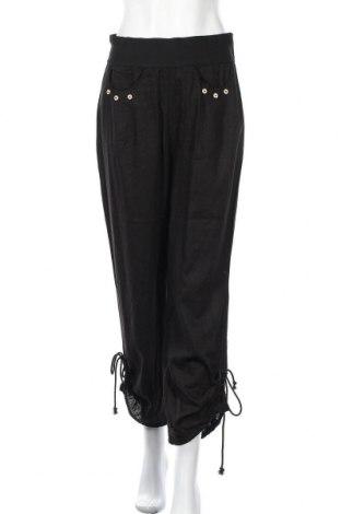 Дамски панталон Tendency, Размер M, Цвят Черен, Цена 9,45лв.