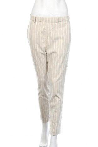 Дамски панталон Uniqlo, Размер M, Цвят Бежов, 68% полиестер, 30% вискоза, 2% еластан, Цена 25,94лв.