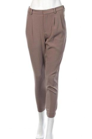 Дамски панталон Uniqlo, Размер S, Цвят Бежов, 96% полиестер, 4% еластан, Цена 11,76лв.