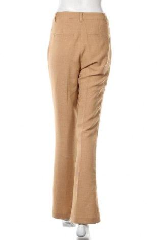 Дамски панталон Vero Moda, Размер M, Цвят Бежов, 73% полиестер, 22% вискоза, 5% еластан, Цена 14,52лв.