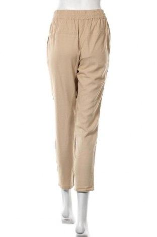Дамски панталон Vero Moda, Размер S, Цвят Бежов, 55% лен, 45% вискоза, Цена 26,40лв.