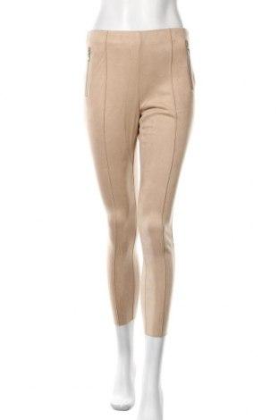 Дамски панталон Vero Moda, Размер S, Цвят Бежов, 92% полиестер, 8% еластан, Цена 15,18лв.