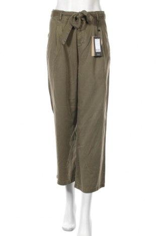 Дамски панталон Vero Moda, Размер S, Цвят Зелен, Лиосел, Цена 27,60лв.