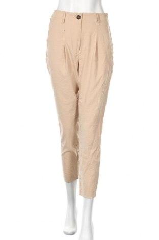 Дамски панталон Vero Moda, Размер S, Цвят Бежов, 58% вискоза, 35% полиестер, 7% полиамид, Цена 27,90лв.