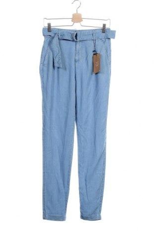 Дамски панталон Vero Moda, Размер S, Цвят Син, Лиосел, Цена 31,05лв.