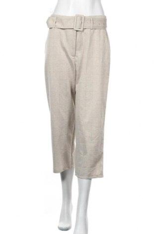 Дамски панталон Vila, Размер M, Цвят Бежов, Цена 17,25лв.