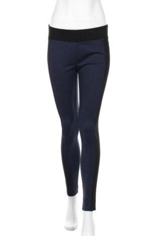 Дамски панталон Woman By Tchibo, Размер M, Цвят Син, 68% вискоза, 28% полиамид, 4% еластан, Цена 25,94лв.