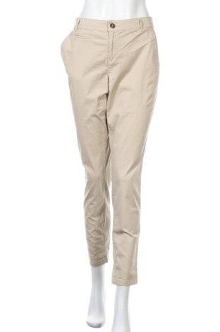 Дамски панталон Yessica, Размер L, Цвят Бежов, 98% памук, 2% еластан, Цена 20,79лв.