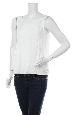 Γυναικείο αμάνικο μπλουζάκι Esprit, Μέγεθος L, Χρώμα Λευκό, 95% βαμβάκι, 5% ελαστάνη, Τιμή 5,09€