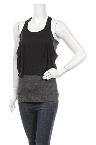 Γυναικείο αμάνικο μπλουζάκι H&M Sport, Μέγεθος S, Χρώμα Μαύρο, Πολυαμίδη, πολυεστέρας, ελαστάνη, Τιμή 9,09€