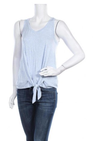 Γυναικείο αμάνικο μπλουζάκι Hyba, Μέγεθος S, Χρώμα Μπλέ, 95% βισκόζη, 5% ελαστάνη, Τιμή 3,18€