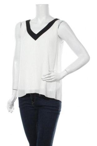 Γυναικείο αμάνικο μπλουζάκι Massimo Dutti, Μέγεθος M, Χρώμα Λευκό, 50% πολυεστέρας, 50% βισκόζη, Τιμή 38,48€