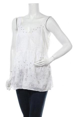 Γυναικείο αμάνικο μπλουζάκι Noa Noa, Μέγεθος XL, Χρώμα Λευκό, Βισκόζη, Τιμή 38,45€
