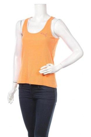 Γυναικείο αμάνικο μπλουζάκι PUMA, Μέγεθος M, Χρώμα Πορτοκαλί, Τιμή 14,85€
