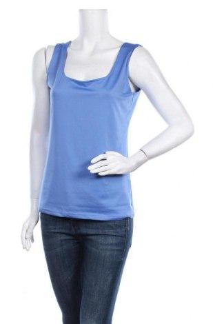 Γυναικείο αμάνικο μπλουζάκι Soya Concept, Μέγεθος L, Χρώμα Μπλέ, Τιμή 3,64€