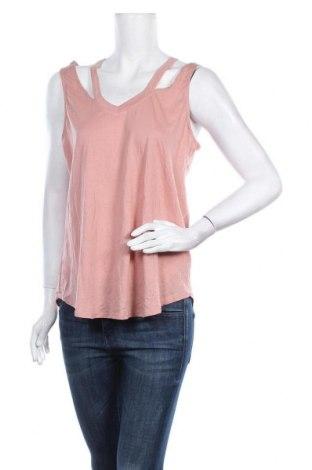 Γυναικείο αμάνικο μπλουζάκι U2B, Μέγεθος L, Χρώμα Ρόζ , 51% βαμβάκι, 49% μοντάλ, Τιμή 6,37€