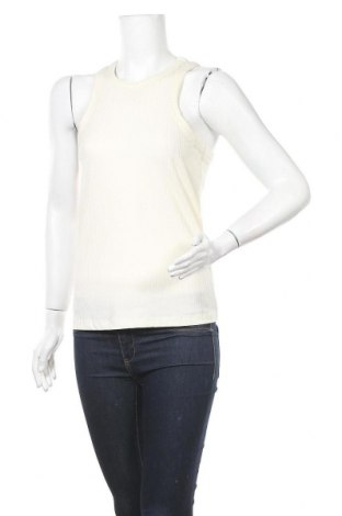 Γυναικείο αμάνικο μπλουζάκι Vero Moda, Μέγεθος M, Χρώμα Εκρού, 63% πολυεστέρας, 33% βισκόζη, 5% ελαστάνη, Τιμή 4,12€