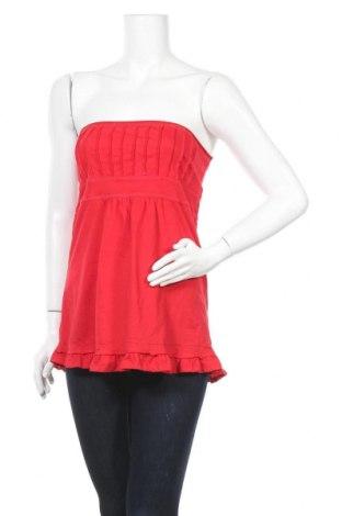 Дамски потник Zenana Outfitters, Размер M, Цвят Червен, 100% памук, Цена 7,35лв.