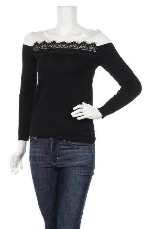 Γυναικείο πουλόβερ, Μέγεθος S, Χρώμα Μαύρο, 80% βισκόζη, 20% πολυεστέρας, Τιμή 10,23€