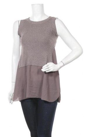 Γυναικείο πουλόβερ, Μέγεθος M, Χρώμα Γκρί, 51% βισκόζη, 39% πολυαμίδη, 10% ελαστάνη, Τιμή 14,81€
