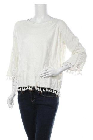 Γυναικείο πουλόβερ, Μέγεθος M, Χρώμα Εκρού, 80% βισκόζη, 20% ελαστάνη, Τιμή 16,05€