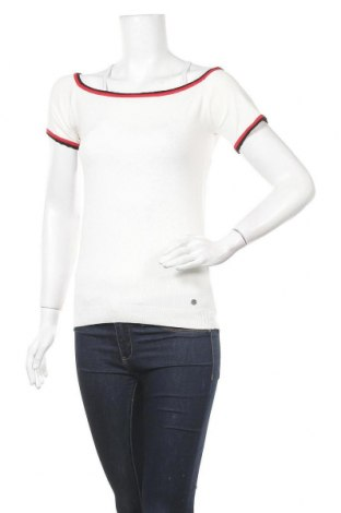 Γυναικείο πουλόβερ Ajc, Μέγεθος S, Χρώμα Λευκό, Τιμή 16,05€