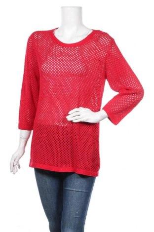 Γυναικείο πουλόβερ Blue Motion, Μέγεθος L, Χρώμα Κόκκινο, 60% βαμβάκι, 40% βισκόζη, Τιμή 2,78€