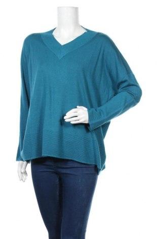 Дамски пуловер Camomilla, Размер M, Цвят Зелен, 57% полиамид, 43% вискоза, Цена 21,60лв.