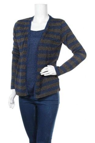Γυναικείο πουλόβερ Camomilla, Μέγεθος M, Χρώμα Μπλέ, 60% βισκόζη, 35% μεταλλικά νήματα, 5% ελαστάνη, Τιμή 30,54€