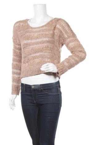 Γυναικείο πουλόβερ Crafted, Μέγεθος M, Χρώμα  Μπέζ, 67%ακρυλικό, 33% πολυαμίδη, Τιμή 2,91€