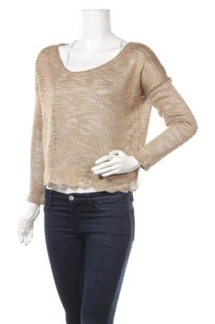 Γυναικείο πουλόβερ Cream, Μέγεθος S, Χρώμα Καφέ, 85%ακρυλικό, 15% πολυεστέρας, Τιμή 10,23€
