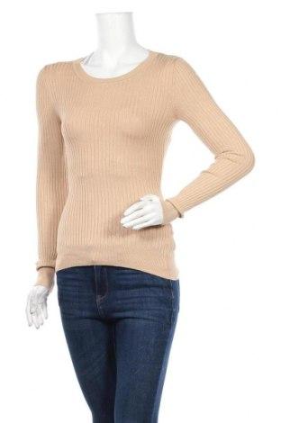 Дамски пуловер Even&Odd, Размер M, Цвят Бежов, Цена 19,11лв.