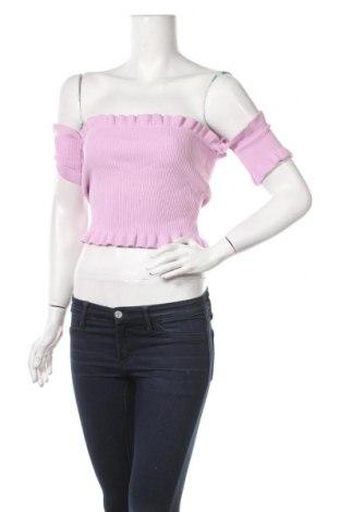 Γυναικείο πουλόβερ Forever 21, Μέγεθος S, Χρώμα Βιολετί, 67% βισκόζη, 33% πολυαμίδη, Τιμή 19,87€