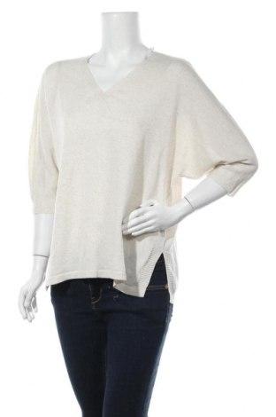 Γυναικείο πουλόβερ Gina Laura, Μέγεθος XL, Χρώμα Εκρού, Τιμή 14,19€