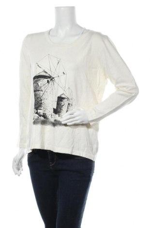 Γυναικείο πουλόβερ Gitti, Μέγεθος L, Χρώμα Εκρού, 80% βισκόζη, 20% πολυαμίδη, Τιμή 14,29€