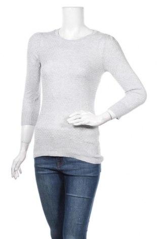 Γυναικείο πουλόβερ H&M, Μέγεθος S, Χρώμα Γκρί, 95% βισκόζη, 5% μετάξι, Τιμή 15,59€