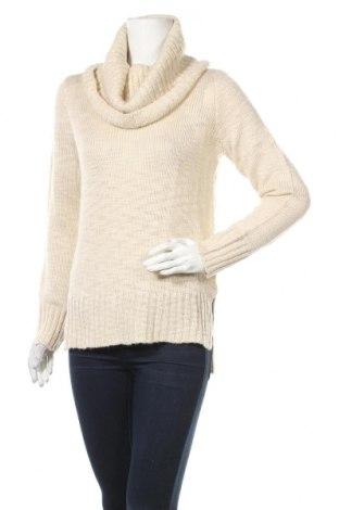 Γυναικείο πουλόβερ H&M, Μέγεθος S, Χρώμα  Μπέζ, 71%ακρυλικό, 22% πολυεστέρας, 4% βαμβάκι, 3% μαλλί, Τιμή 9,19€