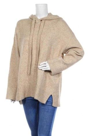 Дамски пуловер H&M L.O.G.G., Размер L, Цвят Бежов, 60% акрил, 34% полиамид, 6% вълна, Цена 20,25лв.