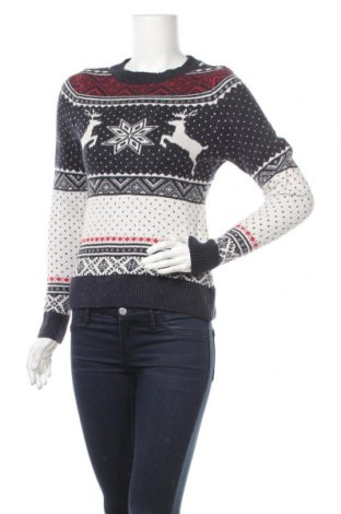 Дамски пуловер H&M L.O.G.G., Размер XS, Цвят Многоцветен, 39% памук, 29% полиамид, 26% вискоза, 6% вълна от алпака, Цена 20,25лв.