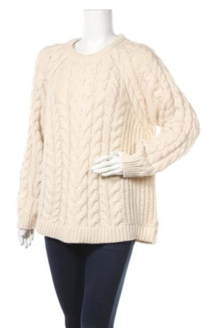 Дамски пуловер H&M L.O.G.G., Размер XL, Цвят Бежов, 60% акрил, 40% полиестер, Цена 18,75лв.