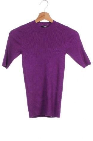 Γυναικείο πουλόβερ Hallhuber, Μέγεθος XS, Χρώμα Βιολετί, 71% βισκόζη, 29% πολυαμίδη, Τιμή 34,55€