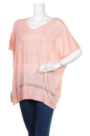 Дамски пуловер Janina, Размер 3XL, Цвят Розов, 80% полиакрил, 20% полиамид, Цена 9,56лв.